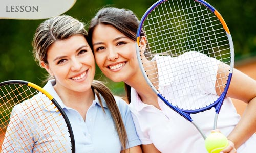 Option 1: 42% off TWO (2) 60mins Tennis Lessons for 1 PAX