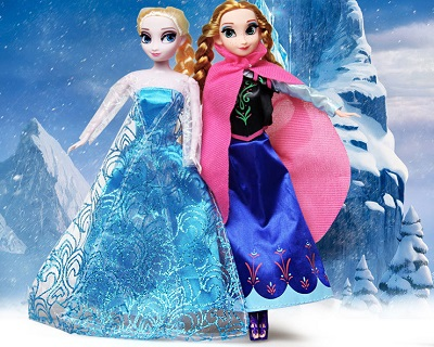 Elsa and Anna Doll 2-Pack Set