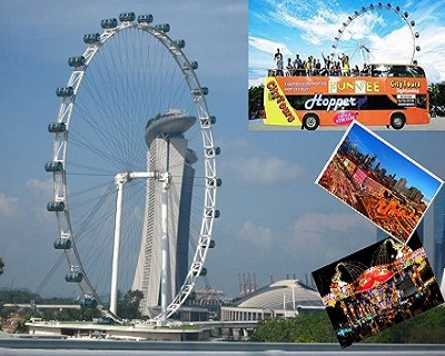 Only $39 (Adult) per pax for FunVee Bus + Singapore Flyer + Journey of Drea...