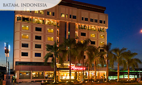 Option 1: 72% off 2D1N BATAM Mercure Hotel + Return Ferry & Land Transfers