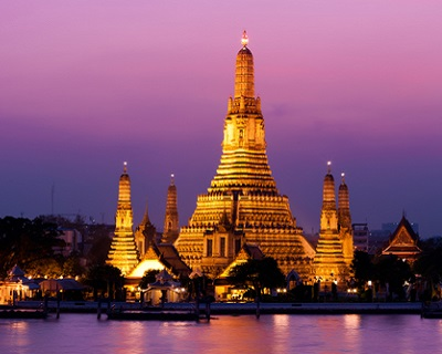 Bangkok : $60 per pax for 2-Way Air Ticket to Bangkok via Thai Airways + 20...