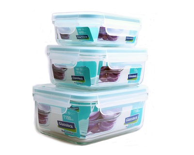 6 Pcs Grasslock Food Container