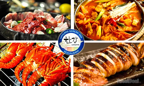 Option 1: 40% off Authentic Korean BBQ BUFFET + Free Flow of Tea! 5 Mins From Little India MRT!