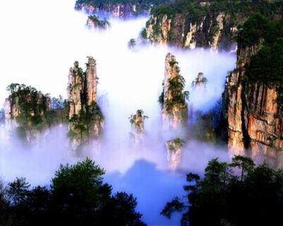 China: $99 for 7D6N Tour to Zhang Jia Jie, Fenghuang Ancient City & Cha...