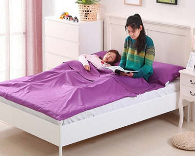 Double-Sized Cotton Sleeping Bag