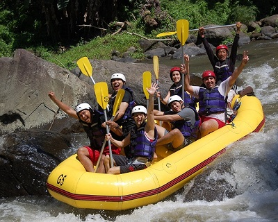 BALI Add-On Activity: Only $59 per pax for 2 Hour White Water Rafting at Ay...