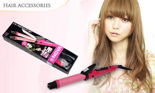 49 Off 2 In 1 Hair Curler Amp Straightener With Nano