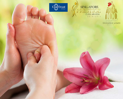 $18 for 1 session of 60-MIN Foot Reflexology + Foot Spa (worth $68) by Our ...