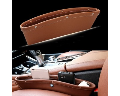 PU Leather Car Seat Pocket Organizer