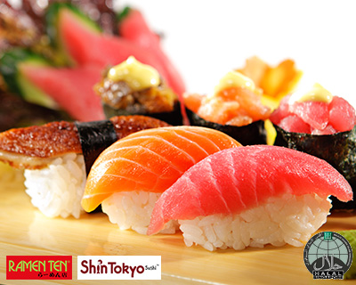 All-You-Can-Eat Certified Halal Sushi Buffet!
