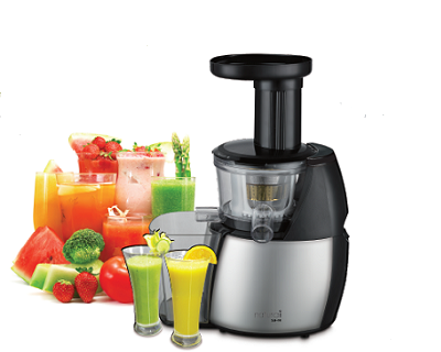 Slow Juicer Deals : MISTRAL Naturai SJ-10 Slow Juicer StreetDeal.sg