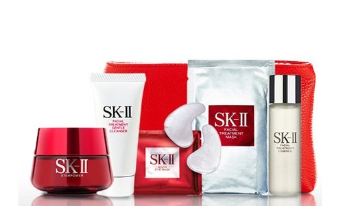 Option 1 : 46% OFF SK-II Holiday Skin Care Series + Branded Cosmetics ...