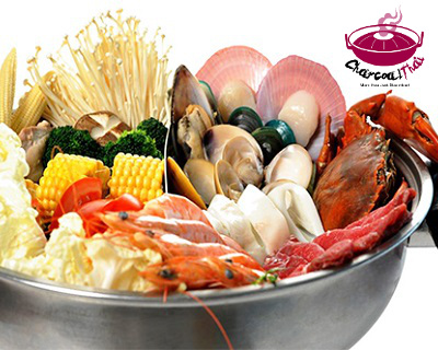 $6.90 for Steamboat Buffet Lunch/Dinner for Child (Worth $11) by Charcoal T...