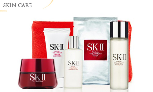 50% OFF SK-II Holiday Series + Free Branded Cosmetic Pouch