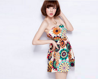 $23.90 for Bright Colored Totem Tube Dress + Delivery