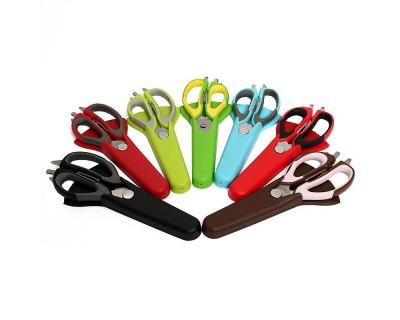 Kitchen Scissors with Magnetic Holder