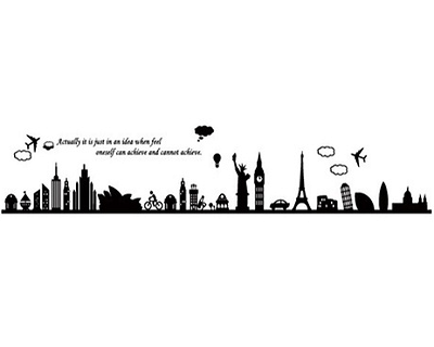 Smart or Large 3D Wall Decal