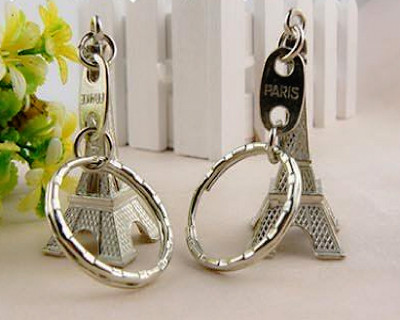 $7.90 for Eiffel Tower Keychain (Set of 3) + Delivery
