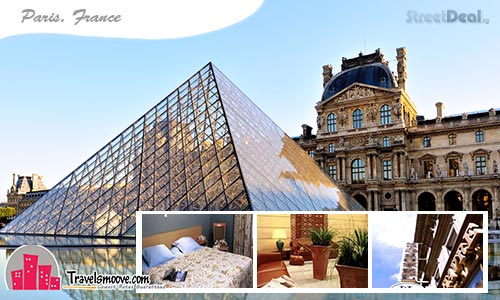 61% off 3D2N Stay at Grand Hotel Du Havre PARIS!