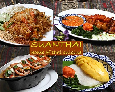 Award-Winnning SuanThai Buffet Dinner