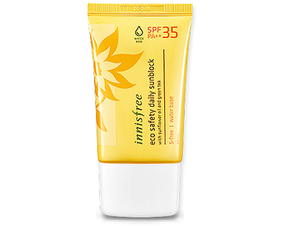 Innisfree Eco Safety Daily Sunblock SPF35 PA++