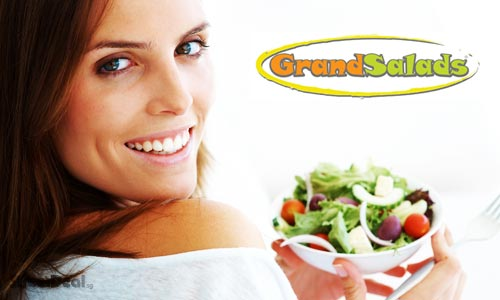 76% off Healthy Salads, Wraps & Gourmet Sandwiches at Grand Salads Bistro