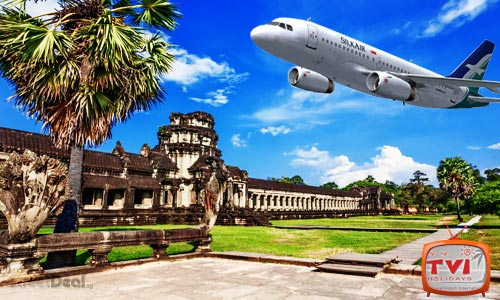 43% off 3D2N Siem Reap w/ 4* Hotel + Return Flights via SilkAir!
