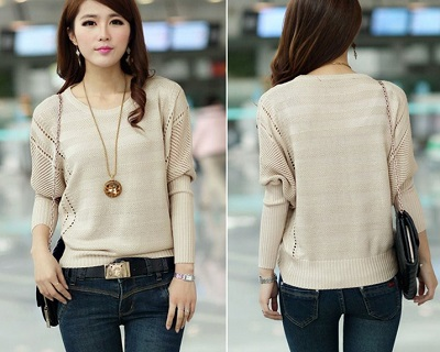 Beautiful Knitted Sweater Top
