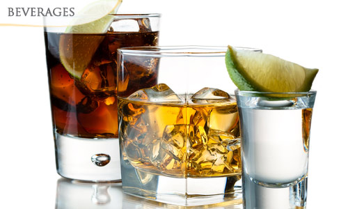 57% OFF! 2 Shots of Liquor + Bar Snacks(Chicken 65 / Chicken Lolly Pop / Gobi 65 / Veg Pakoda) + Soft Drink worth SGD23 at Mantraa Restaurant & Bar