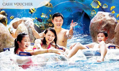 50% off Singapore Attractions SGD10 Cash Voucher + Stand A Chance to Win Samsung S4!