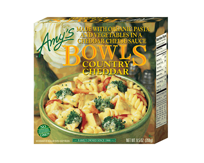 2 Amys Kitchen Country Cheddar Bowls