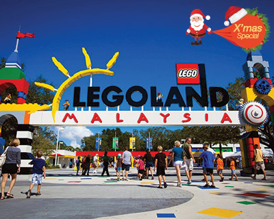 Christmas Fun at Legoland