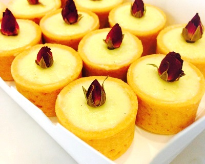 $13.50 for a Box of 12 Mini Lychee Tarts (worth $20.50) by Flourish Pastrie...