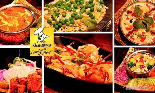 37% off North Indian Ala-Carte Buffet Lunch + Drink at Khansama Tandoori!