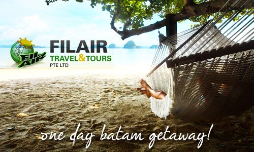 59% off Batam Day Trip w/ Return Ferry + Indo Buffet Lunch + 60 Min Massage