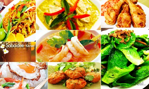 44% off Authentic Thai Set Lunch w/ Drink at Sabaidee Kitchen! 3 Min from Outram MRT!