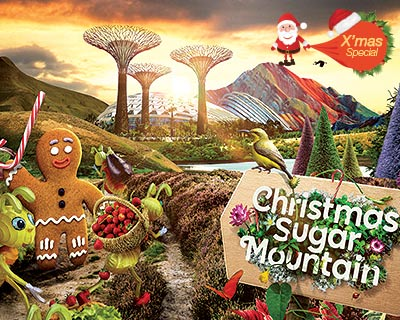 Christmas Sugar Mountain @ Gardens by the Bay