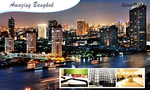 56% off 4D3N Bangkok with Flights! {Option 1: Via CATHAY PACIFIC!}