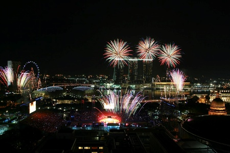 Fireworks in Singapore - When and Where to See Them.