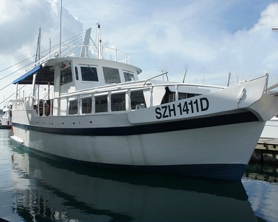 Only $500 for a 4-Hour Yacht Charter for 13 Pax by BOB Marine- Features Kar...