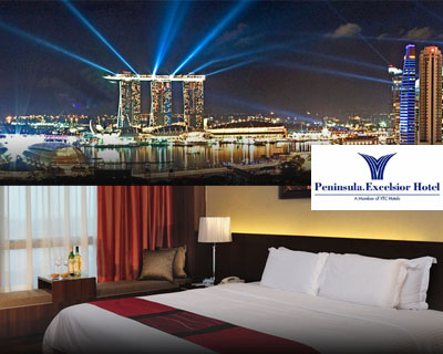 Only $258 for a 2D1N Lunar New Year Staycation @ Peninsula Excelsior (Delux...