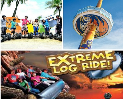 Only $51 per Adult for Admission to 4D Adventureland + Sky Tower + Segway (Child Pric...