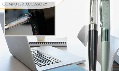 57% off Latest 2-in-1 Crystal Pen with 4GB USB Flash Drive + FREE Delivery