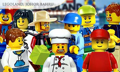 Option 1: 27% off 1-Day JB LEGOLAND Theme Park Pass