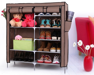 Double Tier Shoe Rack