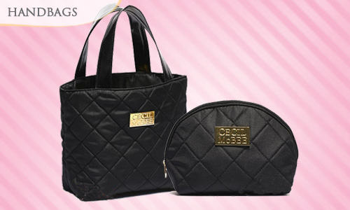 69% OFF CECIL McBEE 25th ANNIVERSARY BOOK Tote & Pouch (Normal Mail)