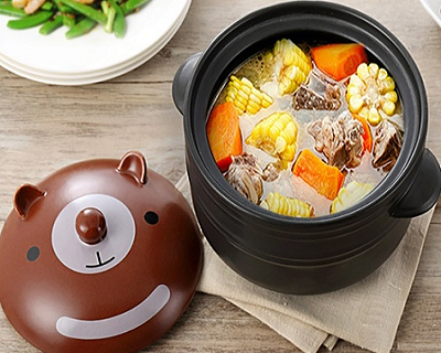 Animal-Themed Claypot