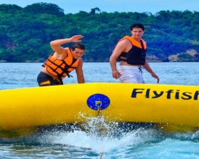 Zoom Past the Waters: Fly Fish Ride in Boracay, Philippines