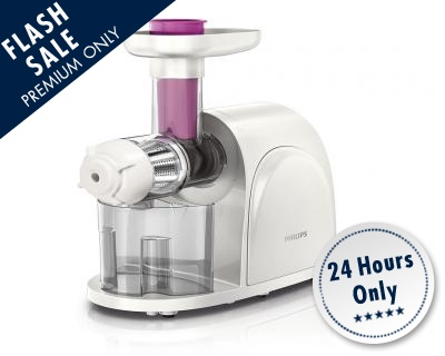 Flash Sales Premium: Philips viva Collection Slow Juicer HR1830 StreetDeal.sg