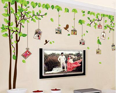 wall decal with photo frames | streetdeal.sg